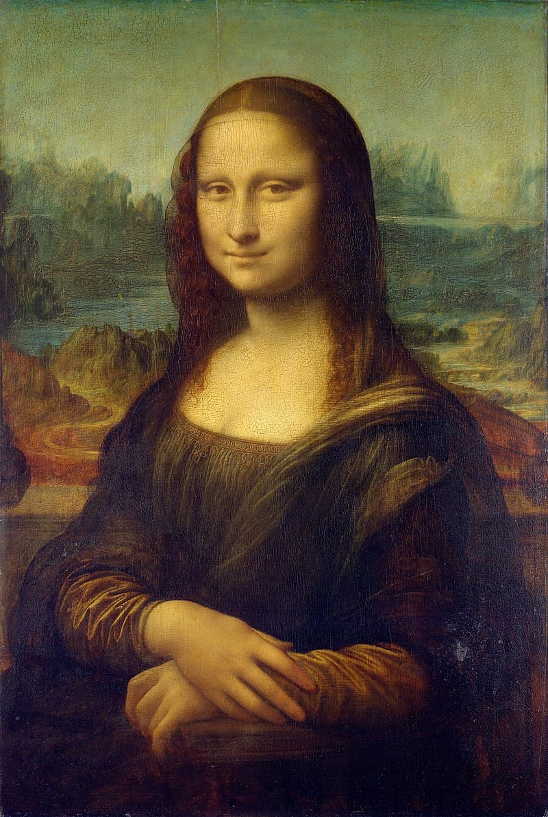 Culture Story: #3 Mona Lisa original painting isn't what we know it to be.