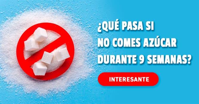 Salud Historia: ¿Qué pasa si no comes azúcar durante 9 semanas?