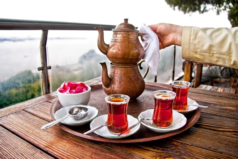 Geography Story: #1 Traditional Turkish teapot