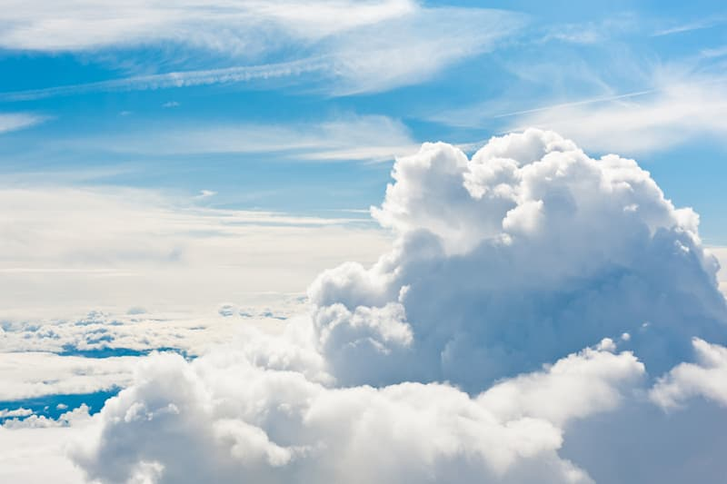 """Society Story: #3 """"Light as a cloud"""" may be a common expression but it's not an accurate one."""