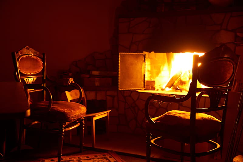 Science Story: #1 The fireplace wasn't always just a decor choice