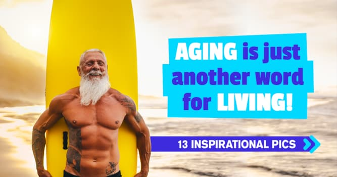 Society Story: 13 cool older adults busting EVERY aging stereotype you know