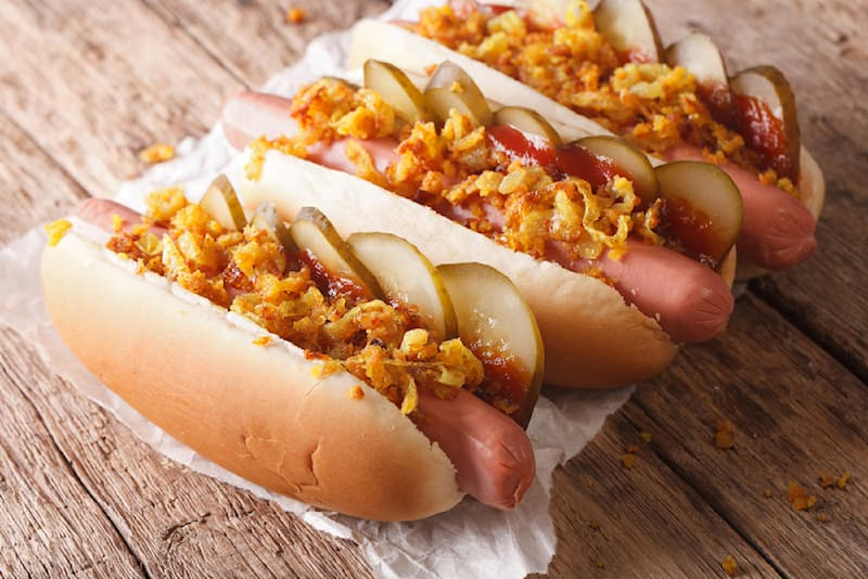 Culture Story: #1 Danish hot dog with onion and pickles