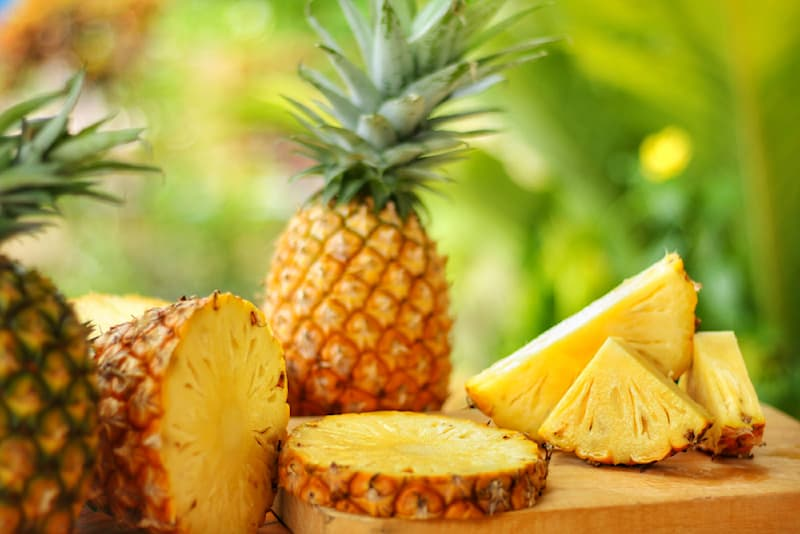Science Story: #1 In the eighteenth century, only people of high social status had pineapples