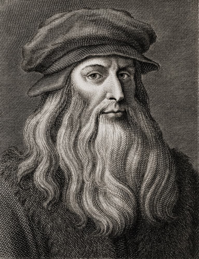 Science Story: #4 Leonardo da Vinci invented an alarm clock that wakes people up by rubbing their feet rather than the regular sound