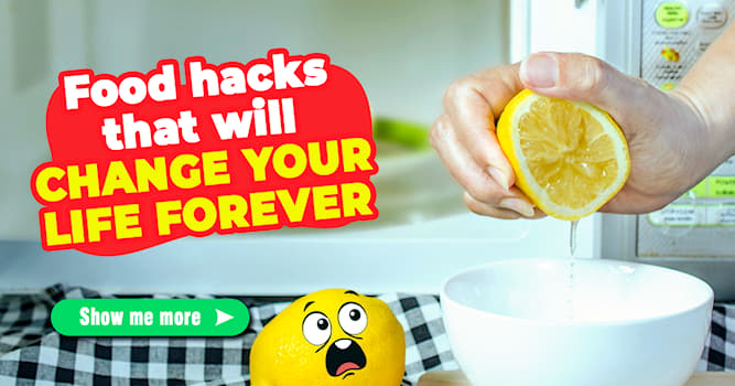 food Story: 7 shocking food hacks you will be thankful for