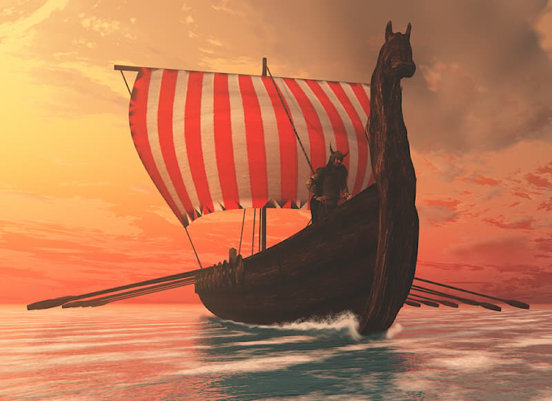 """History Story: #1 In the ancient Norse language, """"viking"""" meant """"pirate raid"""""""