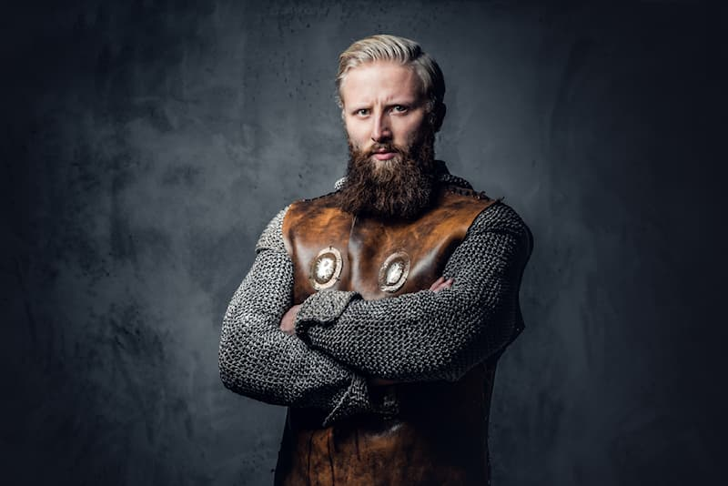 History Story: #4 Vikings were no strangers to societal beauty standards. Men who were born brunette would often bleach their hair to fit in with their brethren