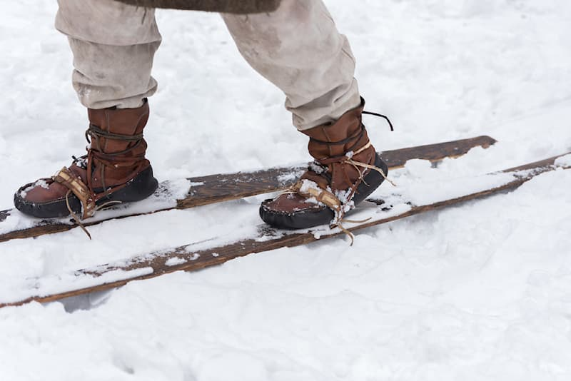 History Story: #6 Skiing is far from being just a pastime of the modern middle class