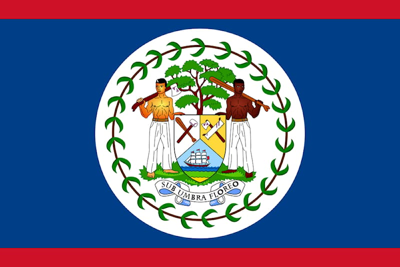 Geography Story: #6 Belize really loves color!