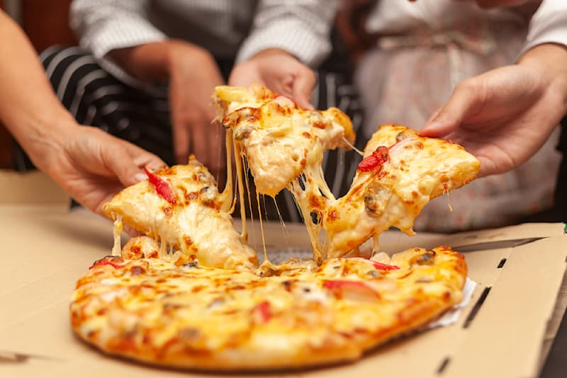 Science Story: #2 We eat pies and pizza first from the inside, then from the outsides.