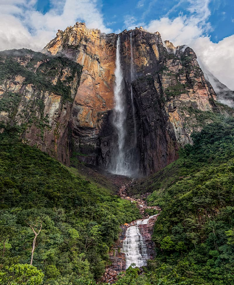 Science Story: #8 The tallest waterfall in the world, Angel Falls, is found in Venezuela. Its height is approximately 3,212 feet