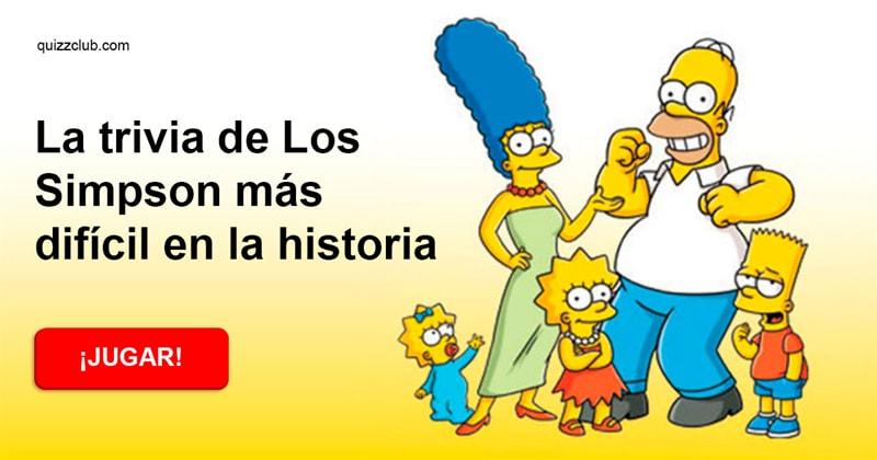 Películas Quiz Test: La trivia de Los Simpson más difícil en la historia