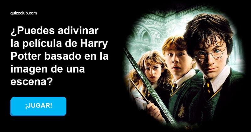 Películas Quiz Test: ¿Puedes adivinar la película de Harry Potter basado en la imagen de una escena?