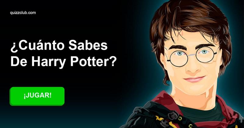 Películas Quiz Test: ¿Cuánto sabes de Harry Potter?