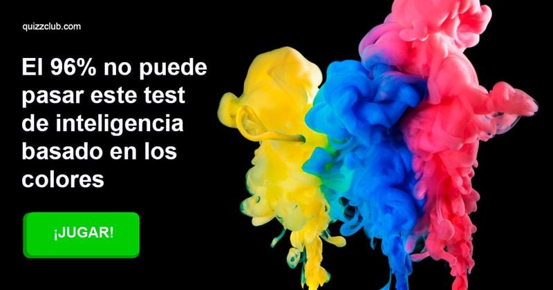 Coeficiente intelectual Quiz Test: El 96% no puede pasar este test de inteligencia basado en los colores