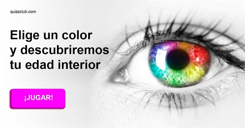 color Quiz Test: Elige un color y descubriremos tu edad interior