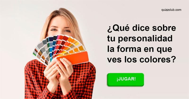 color Quiz Test: ¿Qué dice sobre tu personalidad la forma en que ves los colores?