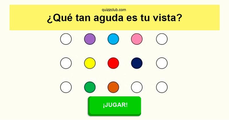 color Quiz Test: ¿Qué tan aguda es tu vista?