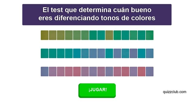 color Quiz Test: El test que determina cuán bueno eres diferenciando tonos de colores