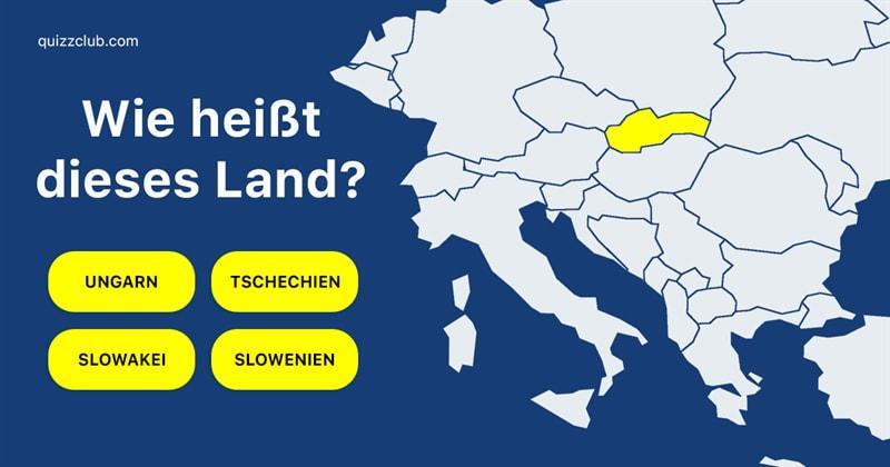 Geographie Quiz-Test: Erkennst du, welche Länder hier farblich hervorgehoben sind?