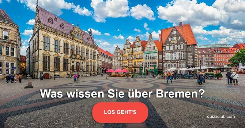 Geographie Quiz-Test: Bremen-Quiz