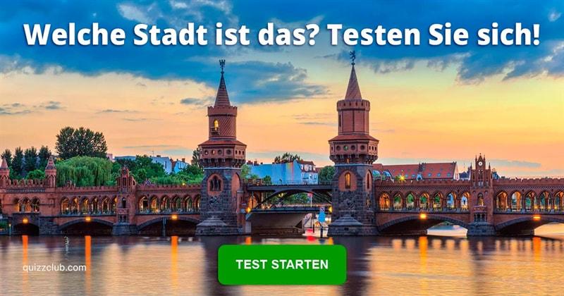 Geographie Quiz-Test: Deutsche Städte