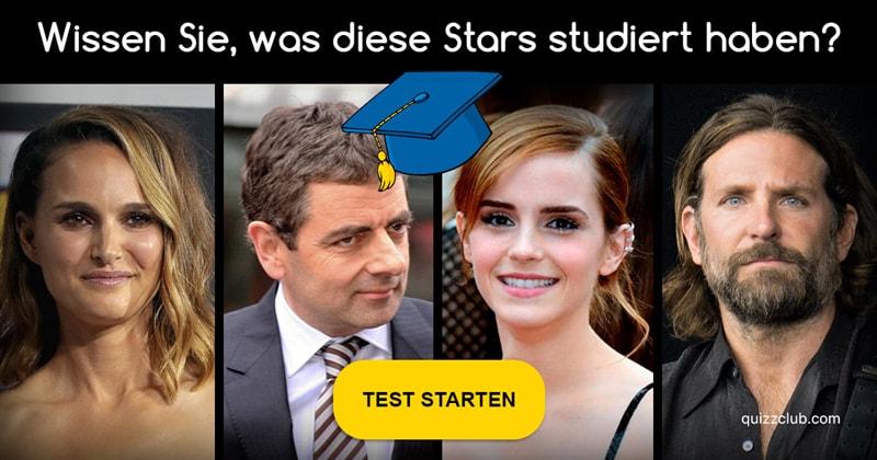 Gesellschaft Quiz-Test: Diese Promis haben ein Diplom in der Tasche