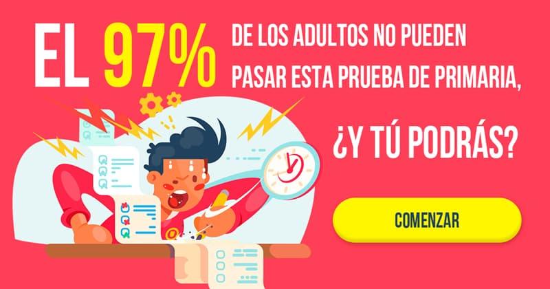 Сiencia Quiz Test: El 97% de los adultos no pueden pasar esta prueba de Primaria , ¿Y tú podrás?