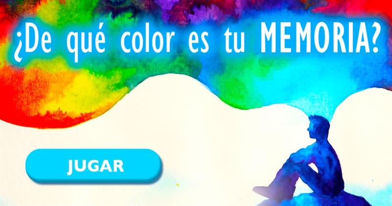 color Quiz Test: ¿De qué color es tu memoria?