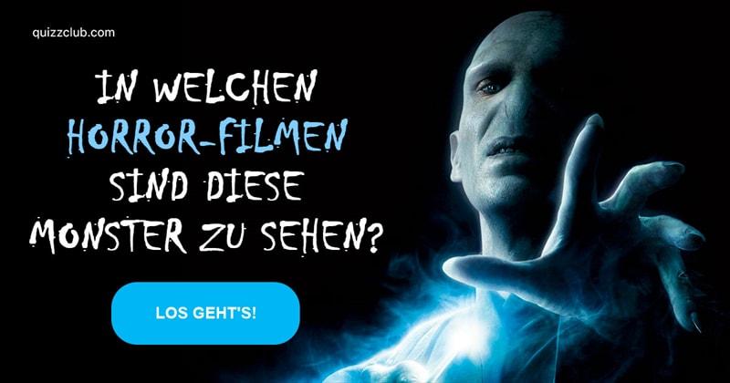 Film & Fernsehen Quiz-Test: Können Sie diese 25 Monster dem Horrorfilm zuordnen?