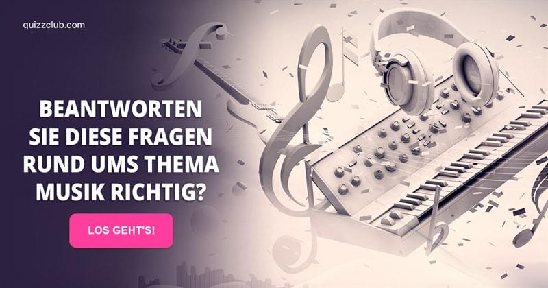 Kultur Quiz-Test: Musik-Quiz