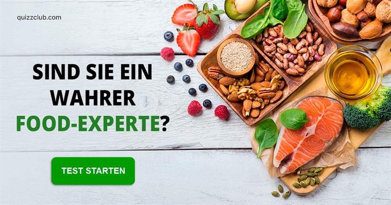 Essen Quiz-Test: Testen Sie Ihr Ernährungswissen!