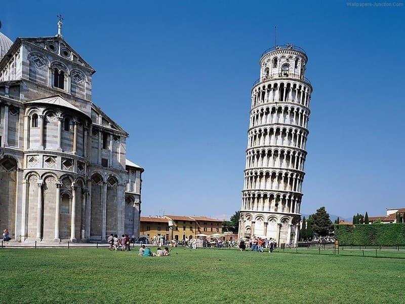 Історія Запитання-цікавинка: Якою була функція Пізанської вежі під час Другої світової війни?
