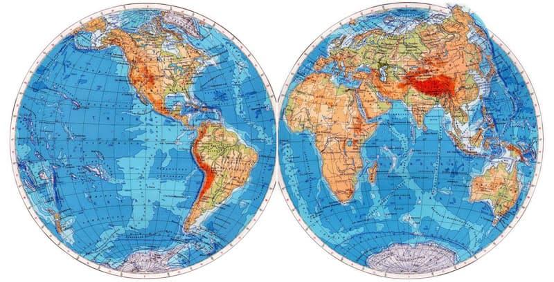 География Вопрос: Какая из перечисленных стран самая большая?