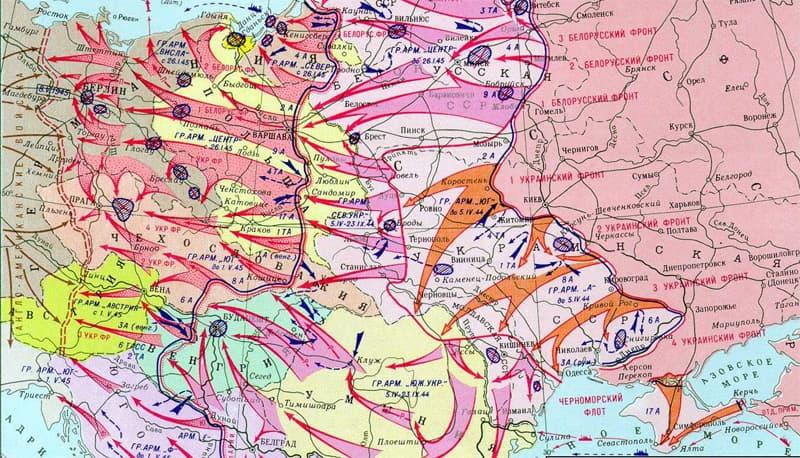 История Вопрос: Когда в ходе Великой Отечественной войны Красная Армия пересекла границу СССР?