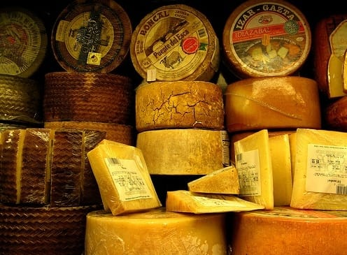 Society Trivia Question: Where was the world's first commercial cheese factory established?