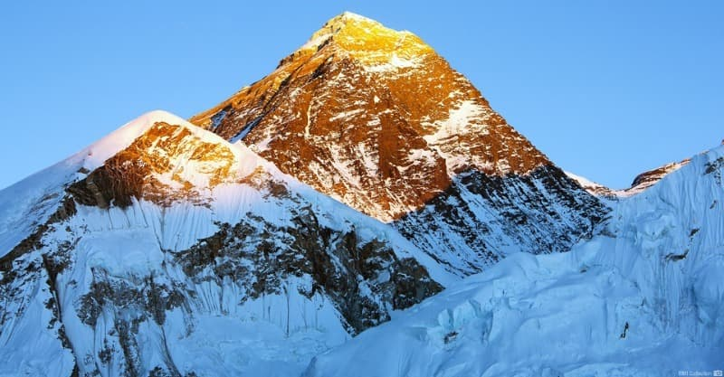 Geography Trivia Question: How old is Mount Everest?