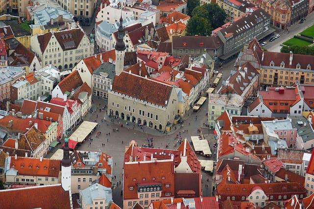 История Вопрос: Какая современная столица европейского государства носила в древности название Колывань?