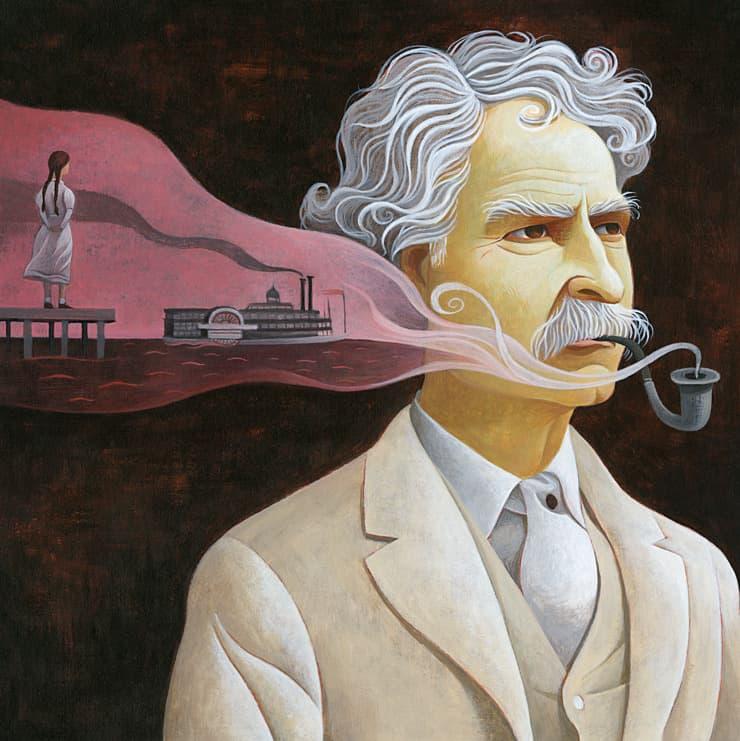 Культура Вопрос: С каким явлением связано рождение писателя Марка Твена?