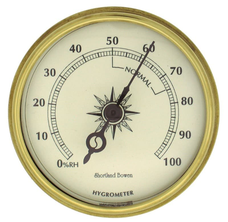 Science Trivia Question: What does a hygrometer measure?