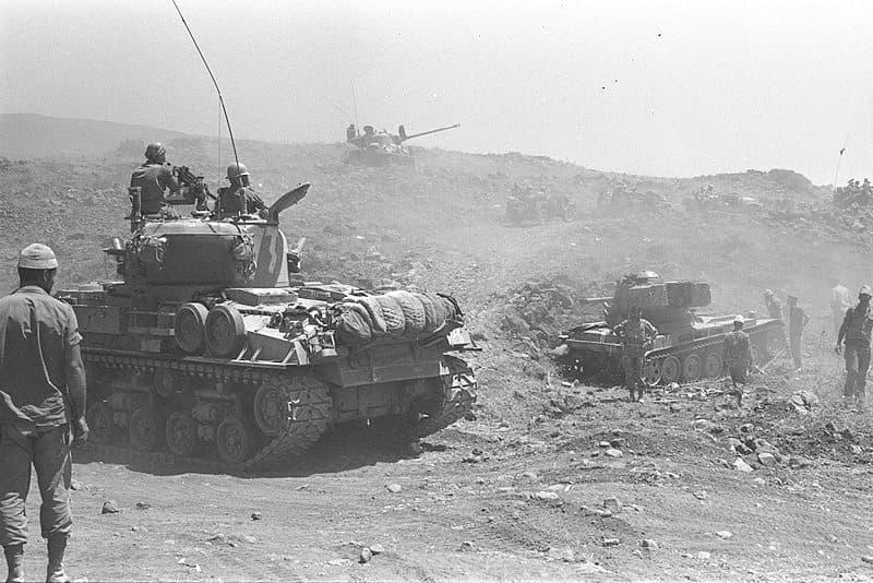 historia Pytanie-Ciekawostka: W jakiej wojnie zwyciężył Izrael?