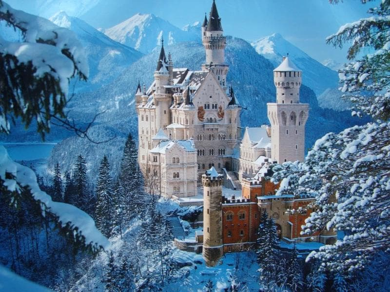 Geography Trivia Question: Where are the Bavarian Alps?