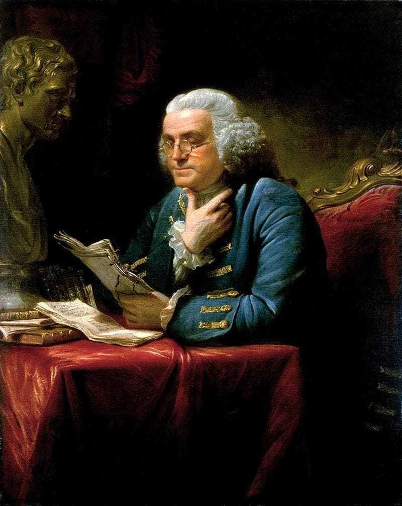 History Trivia Question: Benjamin Franklin caught malaria in London.