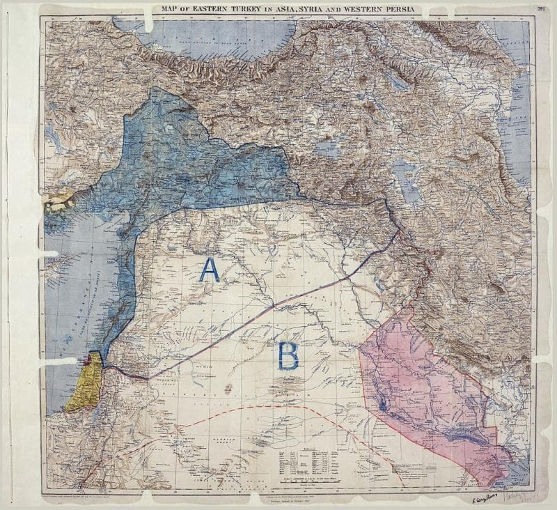 History Trivia Question: The Sykes-Picot agreement divided South-Western Asia into spheres of influence for France, the UK and which other country?
