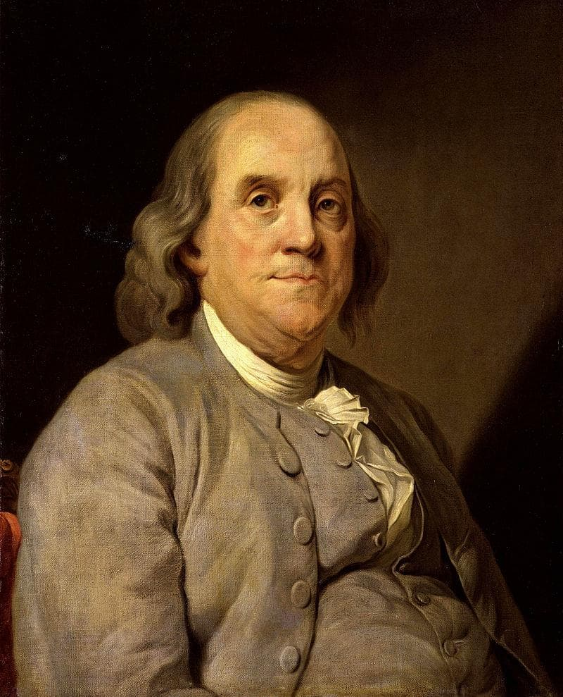 History Trivia Question: Why did Benjamin Franklin travel to London in 1724?
