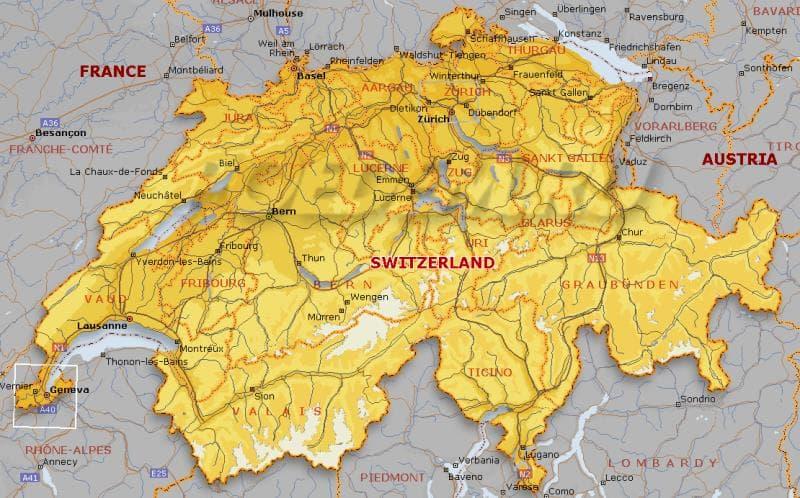 Географія Запитання-цікавинка: Як називаються адміністративні одиниці, з яких складається Швейцарська конфедерація?