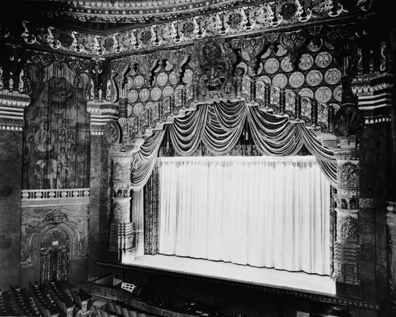 History Trivia Question: In which U.S. city did this movie palace open its doors on December 31, 1927?