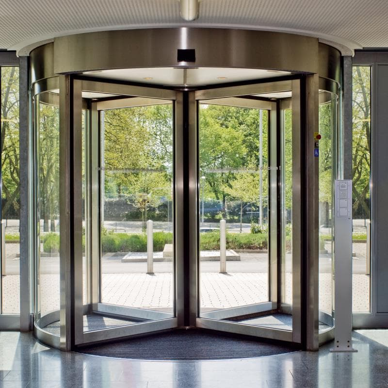 Science Trivia Question: What motivated Theophilus Van Kannel to invent the revolving door?