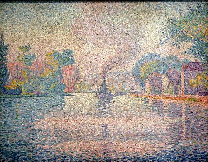 Culture Trivia Question: Who developed the art technique called pointillism?
